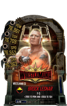 SuperCard BrockLesnar S5 25 WrestleMania35
