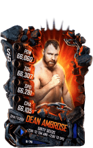 SuperCard DeanAmbrose S5 24 Shattered Event