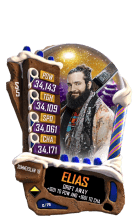 SuperCard Elias S5 21 SummerSlam18 Christmas