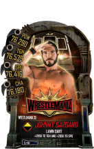 SuperCard JohnnyGargano S5 25 WrestleMania35