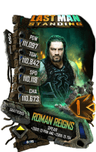 SuperCard RomanReigns S5 24 Shattered LMS