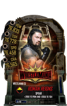 SuperCard RomanReigns S5 25 WrestleMania35