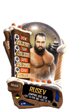 SuperCard Rusev S5 20 Goliath Christmas