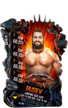 SuperCard Rusev S5 24 Shattered Event