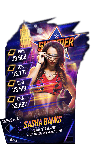 SuperCard SashaBanks S4 21 SummerSlam18 Fusion