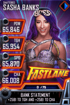 SuperCard SashaBanks S5 24 Shattered MITB