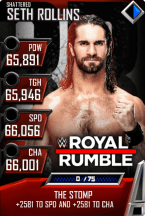SuperCard SethRollins S5 24 Shattered MITB