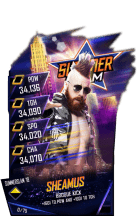SuperCard Sheamus S4 21 SummerSlam18 Fusion