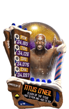 SuperCard TitusONeil S5 21 SummerSlam18 Christmas