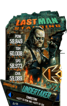 SuperCard Undertaker S4 21 SummerSlam18 LMS