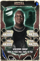 SuperCard Viscera S5 22 Gothic Throwback