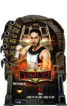 SuperCard Ali S5 25 WrestleMania35