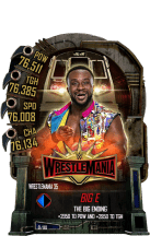SuperCard BigE S5 25 WrestleMania35