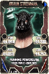 SuperCard BraunStrowman S5 22 Gothic Throwback