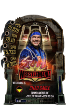 SuperCard ChadGable S5 25 WrestleMania35
