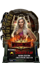 SuperCard CharlotteFlair S5 25 WrestleMania35