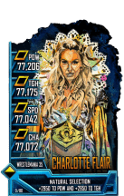 SuperCard CharlotteFlair S5 25 WrestleMania35 FanAxxess