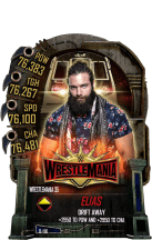 SuperCard Elias S5 25 WrestleMania35