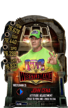 SuperCard JohnCena S5 25 WrestleMania35