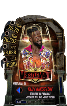 SuperCard KofiKingston S5 25 WrestleMania35