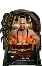 SuperCard KurtAngle S5 25 WrestleMania35