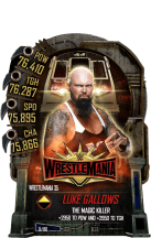 SuperCard LukeGallows S5 25 WrestleMania35