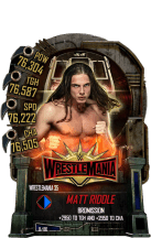 SuperCard MattRiddle S5 25 WrestleMania35