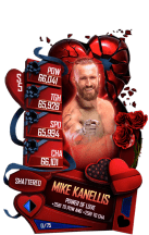 SuperCard MikeKanellis S5 24 Shattered Valentine