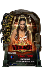SuperCard SarahLogan S5 25 WrestleMania35