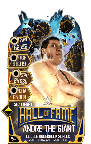 SuperCard AndreTheGiant S5 24 Shattered HallOfFame
