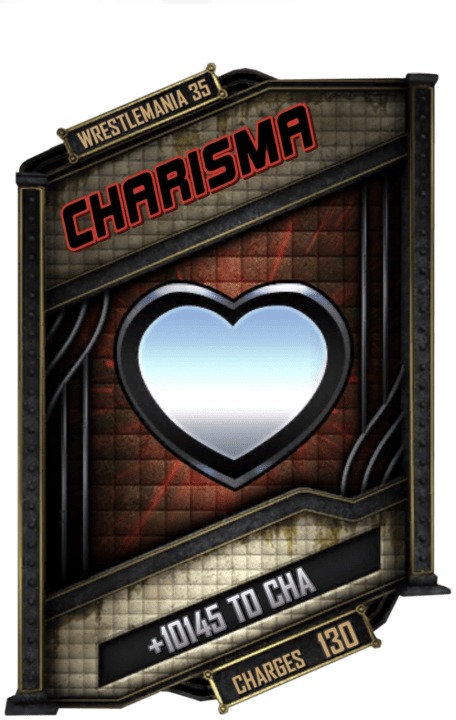 SuperCard Enhancement Charisma S5 25 WrestleMania35