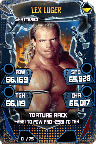 SuperCard LexLuger S5 24 Shattered Throwback