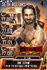 SuperCard SethRollins S5 25 WrestleMania35 MITB