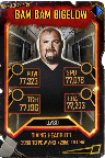 SuperCard BamBamBigelow S5 25 WrestleMania35 Throwback