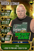 SuperCard BrockLesnar S5 25 WrestleMania35 MITB