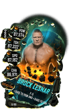 SuperCard BrockLesnar S5 26 Cataclysm