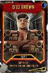 SuperCard DLoBrown S5 25 WrestleMania35 Throwback