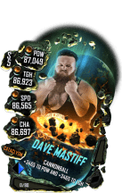 SuperCard DaveMastiff S5 26 Cataclysm