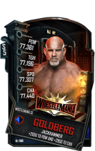 SuperCard Goldberg S5 25 WrestleMania35 Event
