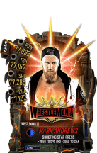 SuperCard MarkAndrews S5 25 WrestleMania35 Fusion