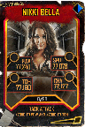 SuperCard NikkiBella S5 25 WrestleMania35 Throwback3