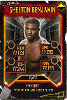 SuperCard SheltonBenjamin S5 25 WrestleMania35 Throwback