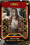 SuperCard Umaga S5 25 WrestleMania35 Throwback