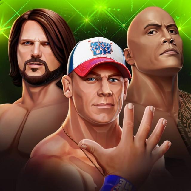 WWE Mayhem Cover Art