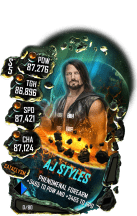 SuperCard AJStyles S5 26 Cataclysm