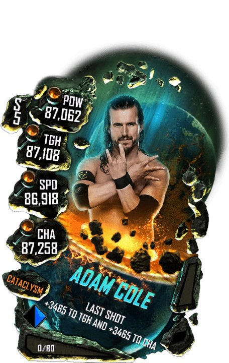 SuperCard AdamCole S5 26 Cataclysm