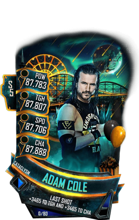 SuperCard AdamCole S5 26 Cataclysm Summer