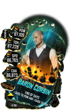 SuperCard BaronCorbin S5 26 Cataclysm