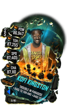 SuperCard KofiKingston S5 26 Cataclysm
