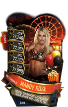 SuperCard MandyRose S5 25 WrestleMania35 Summer